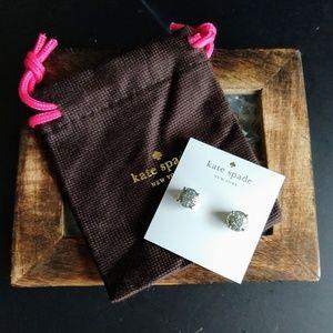 Kate Spade Glitter Gum Drop Earrings